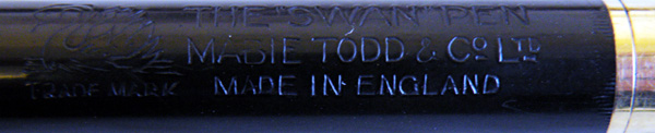 The Mabie Todd Swan 1500 Eyedropper Pen (5/6)